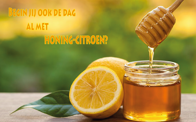 honing en citroen afvallen