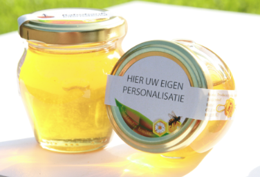 relatiegeschenken honing uniek ambachtelijk imker duurzaam personaliseerd